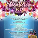 Miss Floral Lippo Plaza Batu 2013