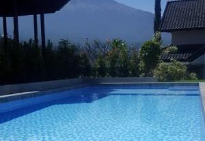 villa selekta jardin kolam renang